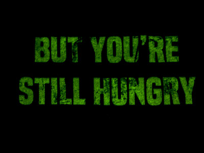 """Still Hungry"" Glow in the Dark T-Shirt main photo"