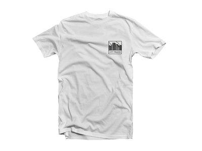 T-Shirt 'City Tracks' - White main photo