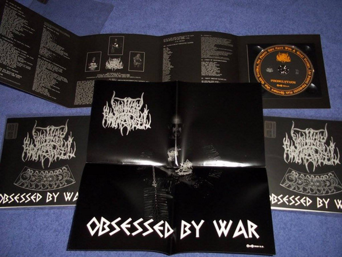 "Afbeeldingsresultaat voor Unholy Archangel 7"" Obsessed by War"