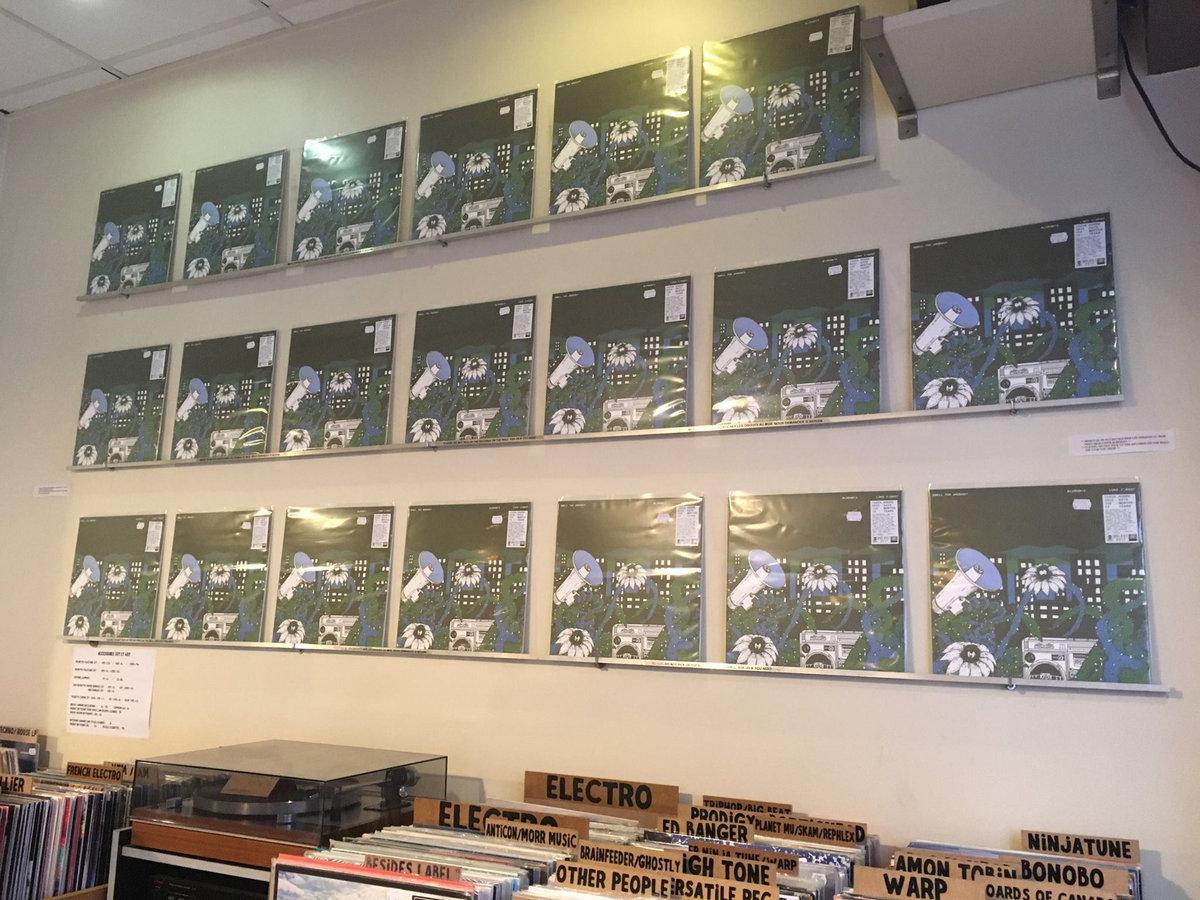 Smell The Urgency Vinyl release | BluRum13