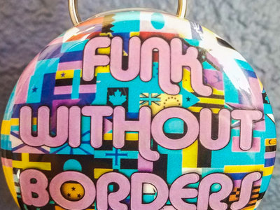 """Funk Without Borders"" Keychain/Bottle Opener main photo"