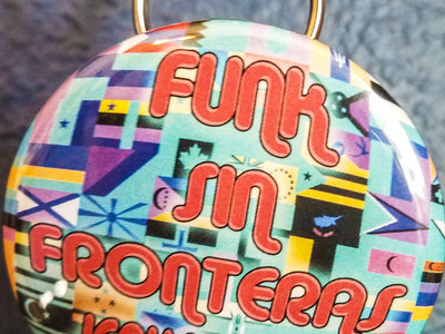 """Funk Sin Fronteras"" Keychain/Bottle Opener main photo"