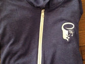 **10% markdown - Lightweight ZipUp Hoodies with Embroidered Logo photo