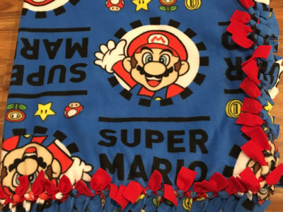 Handmade Super Mario Blanket main photo
