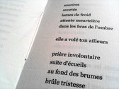 Maison morte - Poetry book photo