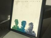 "Ltd edition 12"" handmade screenprint + Spring LP digital download (framed) photo"