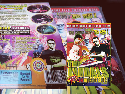 The Vandals live at the House of Blues DVD/CD (LIMITED) main photo