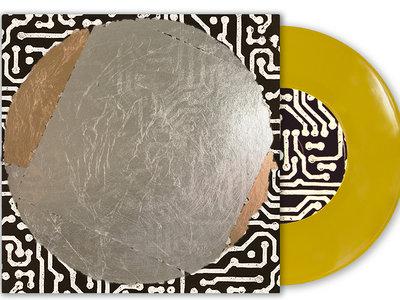 "Residue 7"" Vinyl - SPECIAL HANDCRAFTED CUSTOM JACKET. main photo"