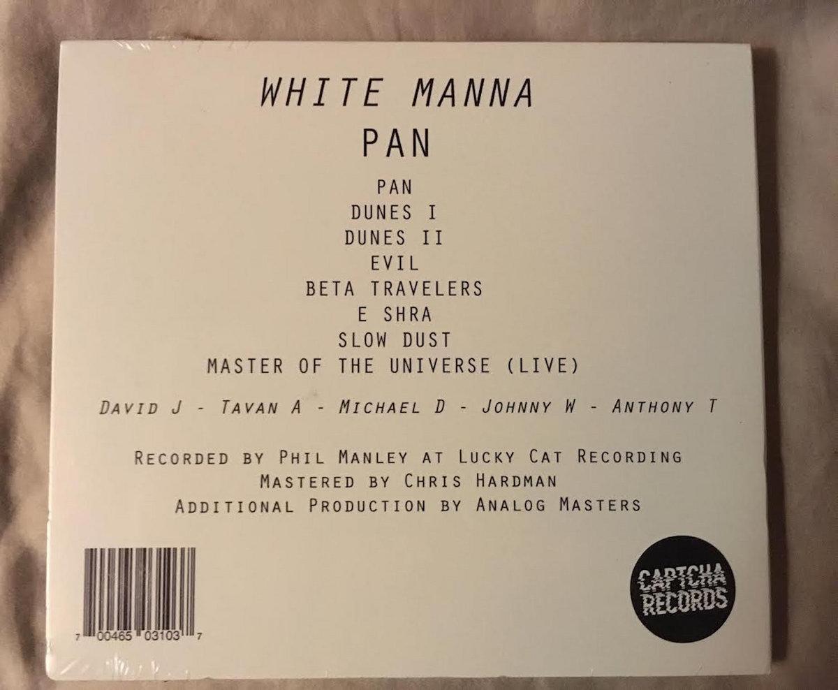 PAN | WHITE MANNA