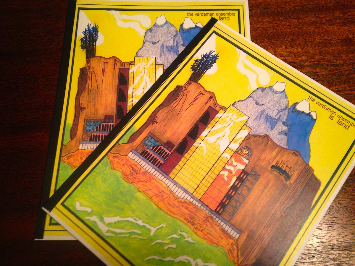 Is Land coloring book and CD | The Vardaman Ensemble