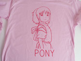 PONY LS PINK T photo