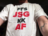 "JSG: ""FFS JSG KK AF"" T-Shirt / Full Album Download photo"
