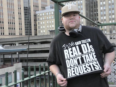 REAL DJs DON'T TAKE REQUESTS T-Shirt main photo