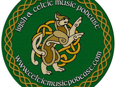 Irish & Celtic Music Podcast - Circle Sticker main photo