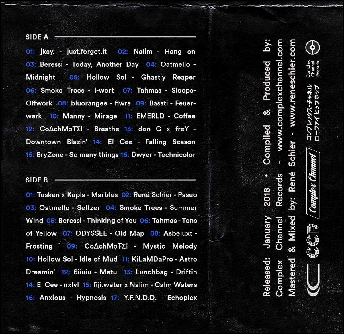 Complex Channel Collective Tapes Vol   3 (CCCT - 0003