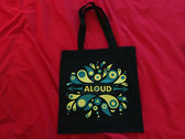 Eruption design - Tote Bag (Black) photo