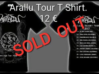 """Nuclear Desert Tour"" 2017 T shirt SOLD OUT! main photo"