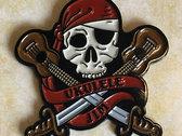Ukulele Pirate Enamel Pin + Digital Download photo