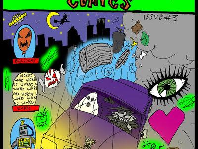 DEATH CAT COMICS Issue #3 main photo