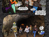 DEATH CAT COMICS Issue #5 (deluxe) Death Cat vs the Mole-People photo