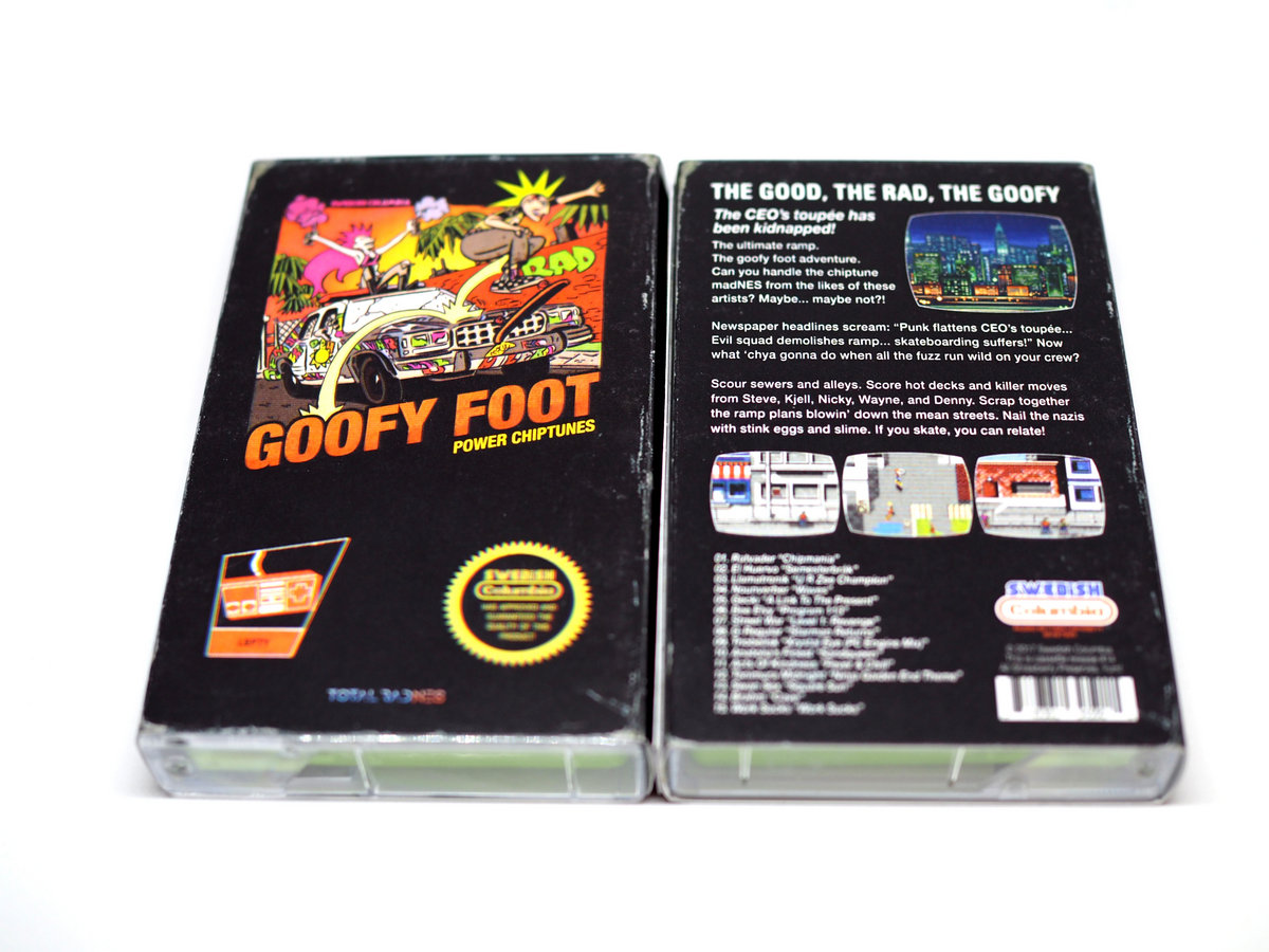 Goofy Foot: Power Chiptunes | Swedish Columbia