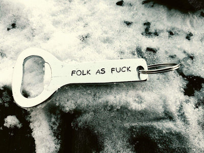Folk AF Keychain Bottle Opener main photo