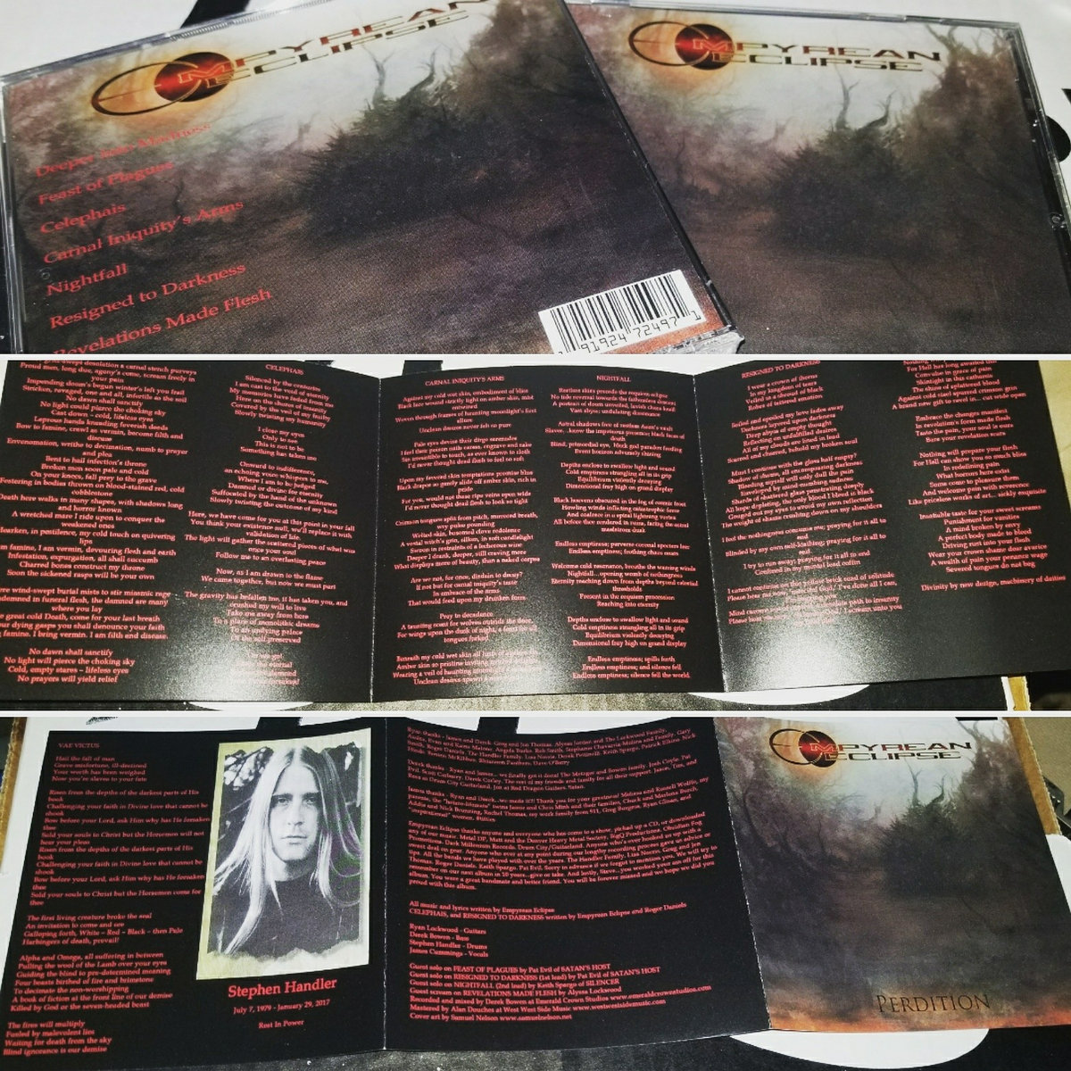 Perdition empyrean eclipse album with the liner notes lyrics and artwork by samuel nelson includes unlimited streaming of perdition via the free bandcamp app plus high quality stopboris Image collections