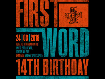 First Word Records 14th Birthday Ticket main photo