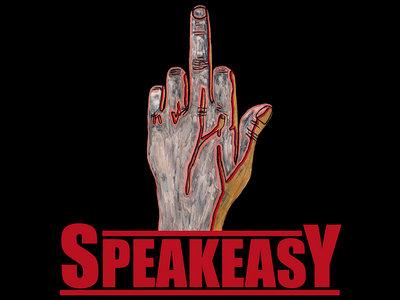 """""""Speakeasy Middle Finger"""" Poster main photo"""