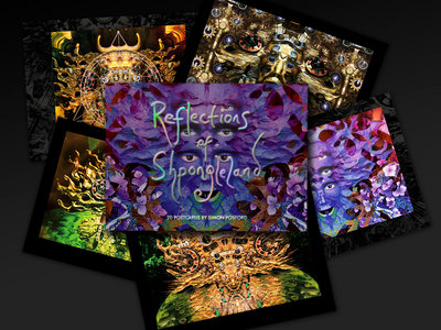 Reflections from Shpongleland PostCard Book main photo