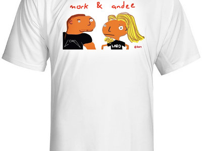 mork & andee Classic White T-shirt main photo