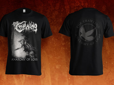 'ANATOMY OF LOSS' (Tom Bradfield Design) t-shirt main photo