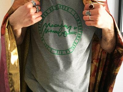 Macadam Mambo T-Shirt LOGO Grey/Green main photo