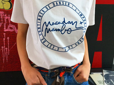 Macadam Mambo T-Shirt LOGO White/Blue (sold out) main photo