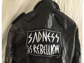 Lebanon Hanover Sadness Lebanon Hanover Sadness is Rebellion BIG Patch (Size ca. 28 x 19 cm) photo