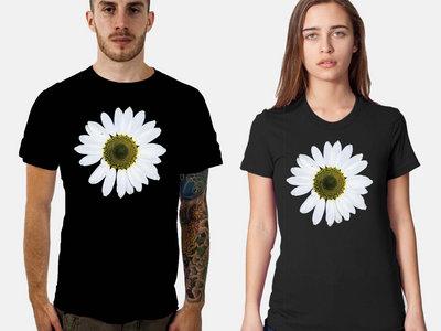 Black Daisy Wheel T-Shirt main photo