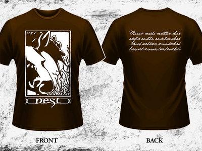 """Hirvi"" T-shirt (still available from Dämmerung Arts) main photo"