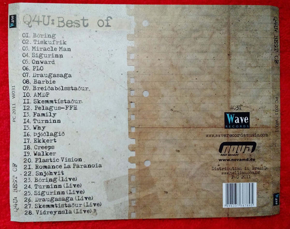 Q4U - BEST OF   Wave Records