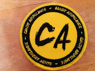 """CA"" Embroidered Patch main photo"