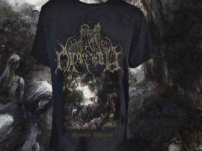 """Memoria Sylvarum"" T-shirt main photo"