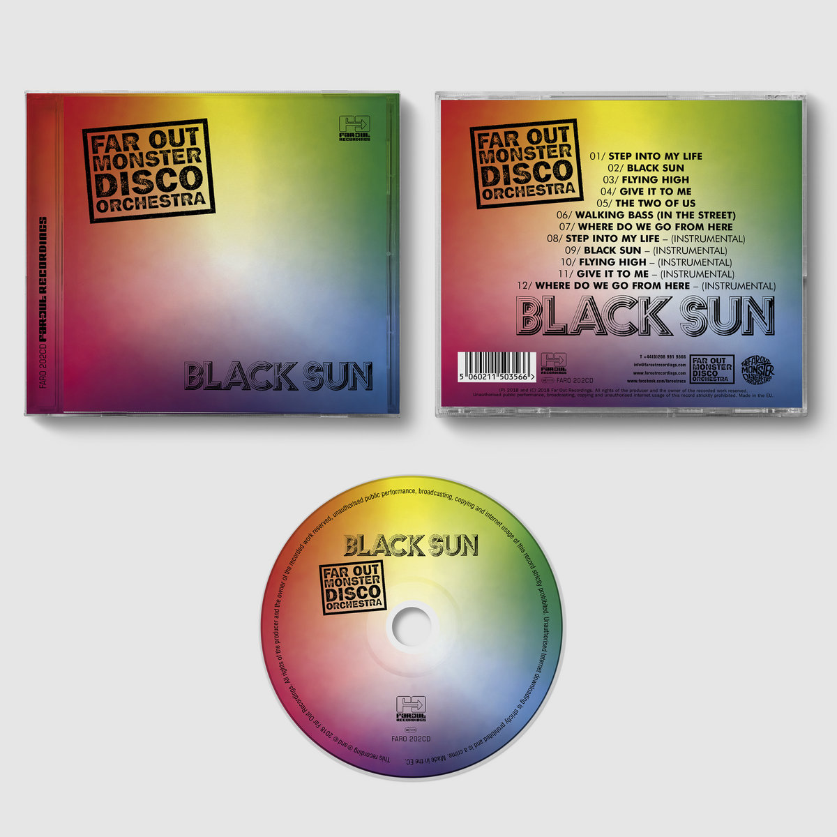 Black Sun | Far Out Monster Disco Orchestra