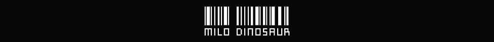 Milo Dinosaur Definition