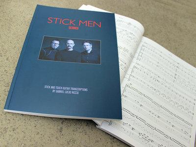 Stick Men - SCORED (book) main photo