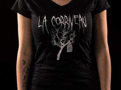 """V-Neck T-Shirt """"Tree"""" Girlie main photo"""
