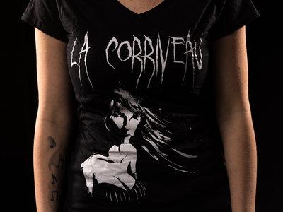 """V-Neck T-Shirt """"Soul Possession"""" Girlie main photo"""
