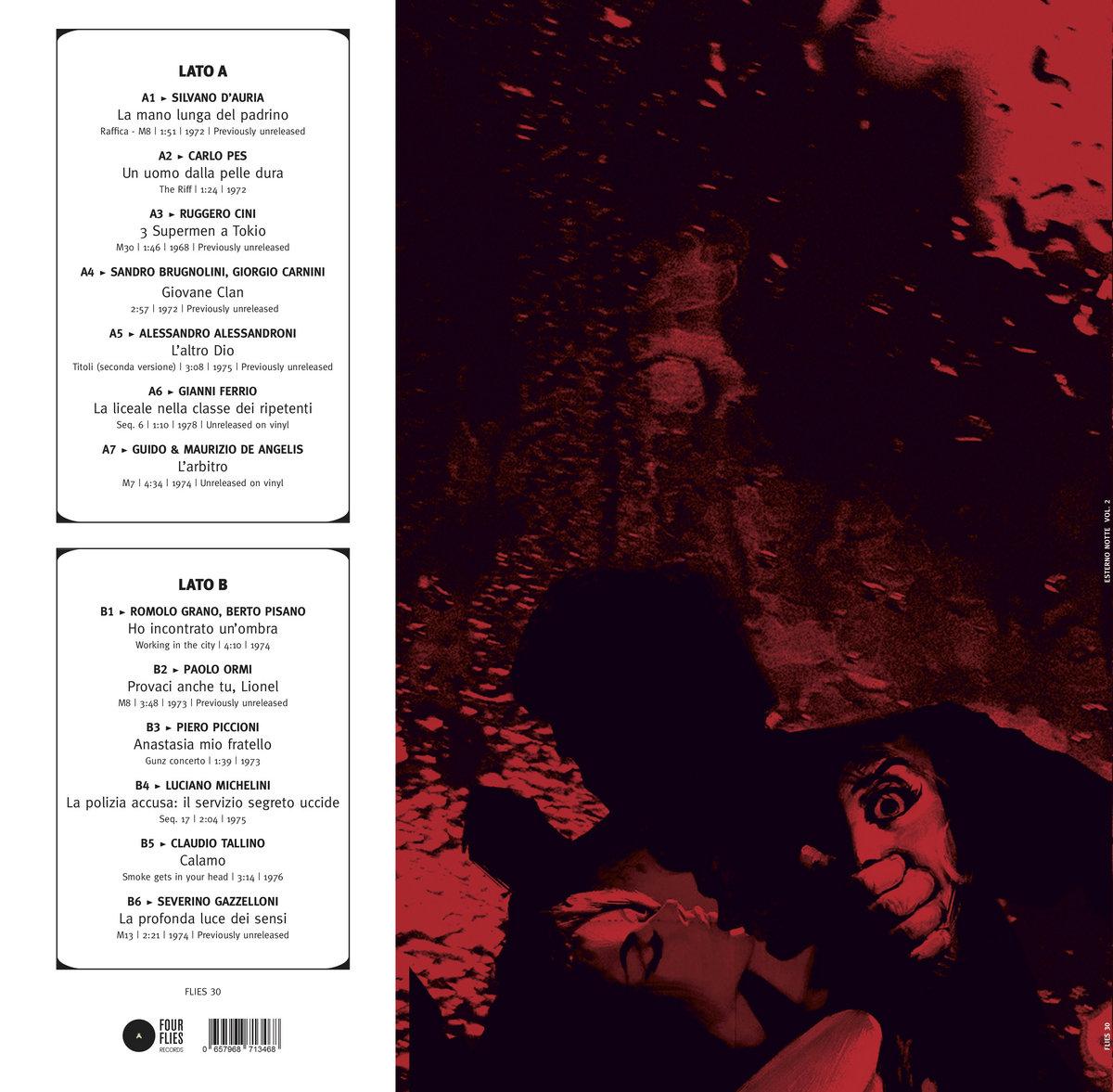 ESTERNO NOTTE VOL  2 | Four Flies Records