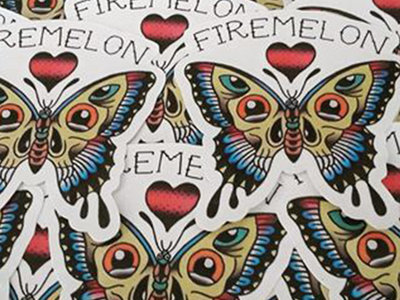 Butterfly Sticker main photo