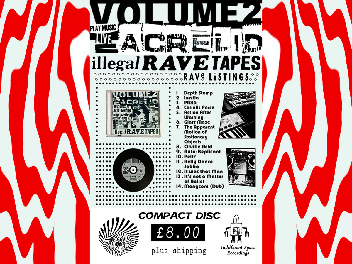 Acrelid illegal rave tapes volume 02 john lee richardson includes unlimited streaming of acrelid illegal rave tapes volume 02 via the free bandcamp app plus high quality download in mp3 flac and more negle Images