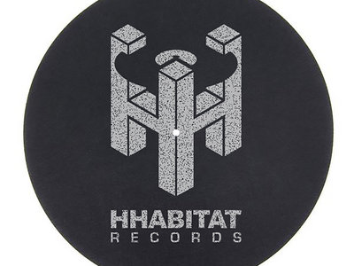 "HHabitat Records 7"" Slipmats (pair) main photo"