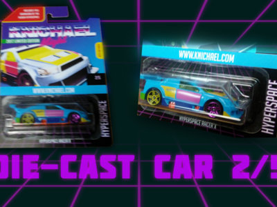 Hyperspace Racer-X Die Cast Toy Car - LIMITED EDITION - 2/5 main photo